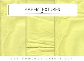 Paper textures by EDFTeam
