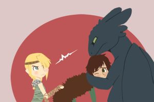 HTTYD - MY Hiccup by Sharezii