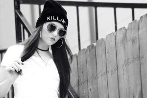 Killin It 2 BW by JasmineBelle