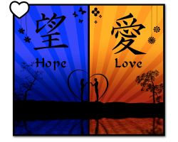 Hope and Love by Blue70