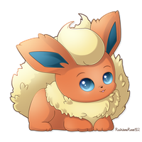 Flareon by RainbowRose912
