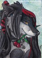 ACEO: Seras commission by Eleweth