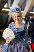Marie Antoinette first frech gown by SakuraCosplay