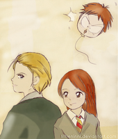 Knowing Glances by LittleNinni