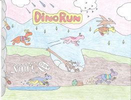 Dino Run Backyardigans by Katy133