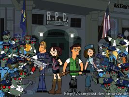 Total Resident Evil Cops by vampcast