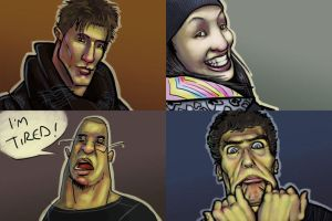 Facebook Profile Portraits 01 by bboykrillin