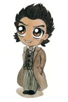 Sherlock Chibi by TheEvanescenceBegins