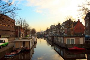 Groningen canal by Unpropitious