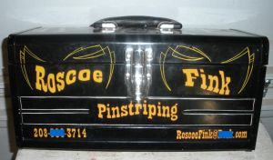 Roscoe's Lettered PaintBox by Hepcat-Pinstriping