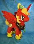 Princess Big Macintosh Plush by Ketikaket