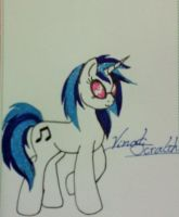 Vinyl Scratch by fireangel71301