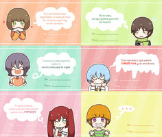 Baka Valentine Cards by ani12