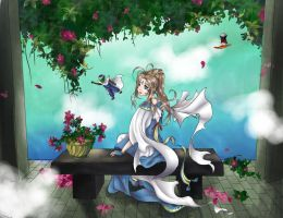 Belldandy by cat-breath