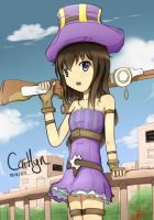 Caitlyn - The Sheriff of Piltover by Vikko2