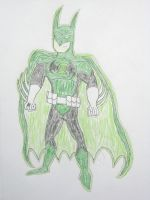 Green Lantern Batman by MetroXLR99