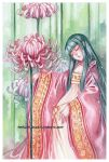 Chrysanthemum -watercolors- by auroreblackcat