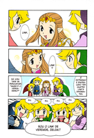 Legend of Zelda - 4 sword Manga by Victoriaiso