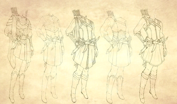 Lithien's Outfit Compilation by Mimiko-Flamemaker