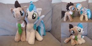 Companions - Custom Plushes by Fire-Topaz