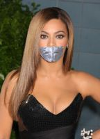 Beyonce tape gagged by ikell
