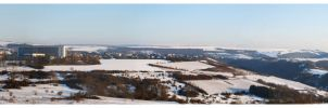 Winter panorama by MiouQueuing