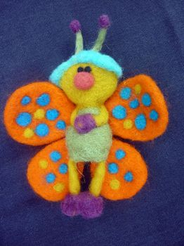 The Butterfly by Woolydesigns