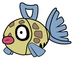 Feebas Pokedoll Art by methuselah-alchemist