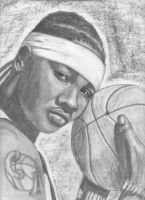 Carmelo Anthony by candysamuels