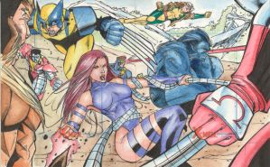 Xmen Archives Artist proof 1A by Csyeung