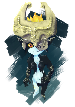 Midna by Wolflover1086