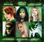 Ivy's Mind Controlled Heroines - Known Victims by Unconsionable