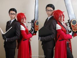 Kuroshitsuji - Will AND Grell by maki-chama