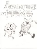 Adventure Time by TheAljavis
