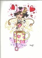 Love Coffee by CUTE-ChibiMONSTERZ