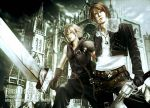 Squall and Cloud by Cielrune