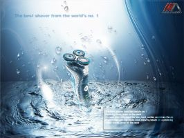 philips shaver by REDFLOOD