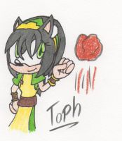Sonic:AvatarTLA Crossover - Toph by Piplup88908
