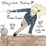Drawing Practice: Military and Gun 1: Raven Grant by SOTDcorp