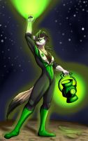 Green Lantern of Sector 2877 by Boneitis