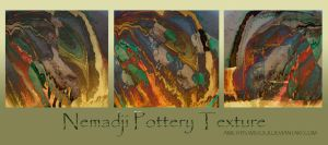 Nemadji Pottery Textures by amethystmstock