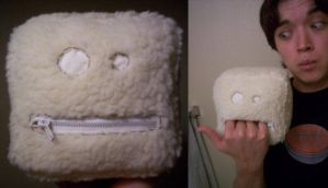 Prototype - Cube plush by cheesehound