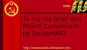 CPDA Membership Card GAELIC by The-Necromancer