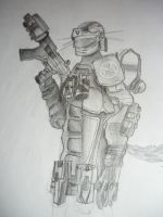 Some soldier guy by tofiroide