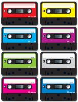 casettes by petipoa
