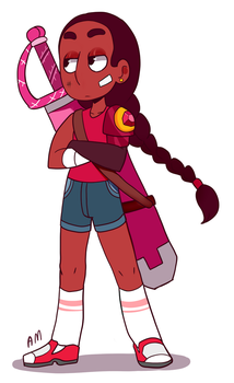 AU Connie by AngeliccMadness