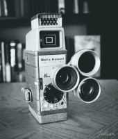 Vintage 8mm Bell and Howell by JuReam