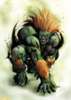 street fighter 4 blanka by batguyz