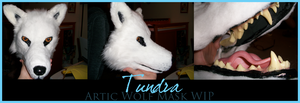 Tundra - Wolf Mask WIP by sugarpoultry