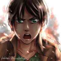 Eren - color sketch by PlatinaSi